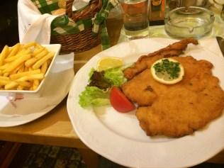 Chicken Schnitzel in Vienna