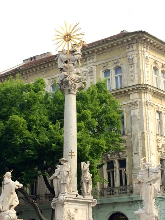 Black Plague Column