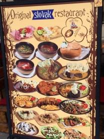 Traditional Foods of Slovakia