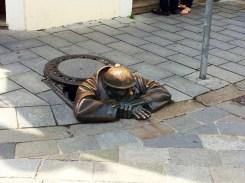 """""""Working"""" Man Statue"""