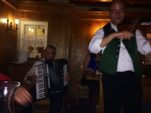Traditional Viennese Music At Dinner