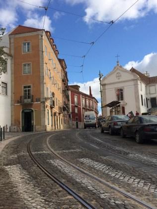 Igreja Santa Luzia In Lisbon, Portugal