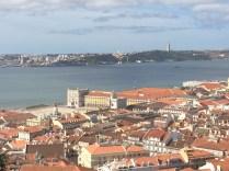 View From Castelo de São Jorge In Lisbon, Portugal