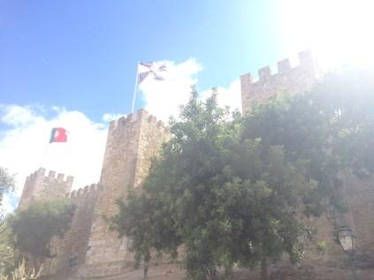 Castelo de São Jorge In Lisbon, Portugal