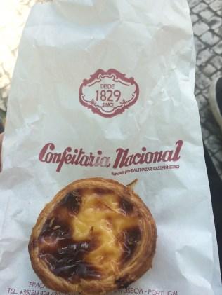 Pastel De Nata From Confeitaria Nacional In Lisbon, Portugal