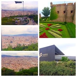 Telefèric de Montjuïc In Barcelona, Spain