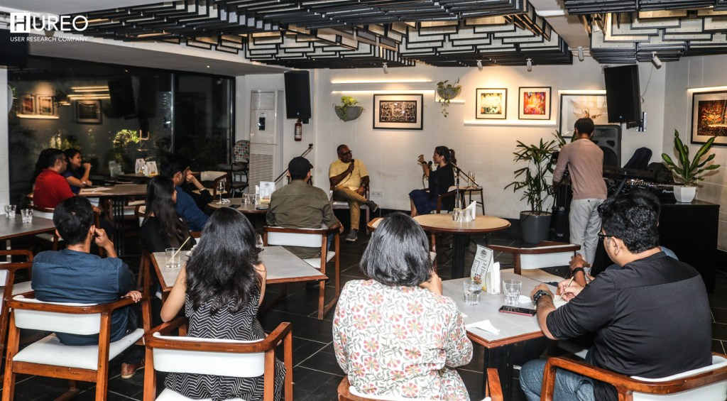 Ripul and Anjeli discuss user research in India