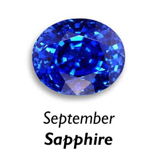 September Birthstone - Sapphire