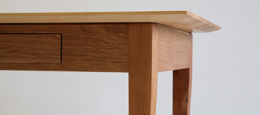 Damentisch, Detail