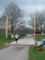 First across the finish line, 29 year old Todd Krzycki won the race.