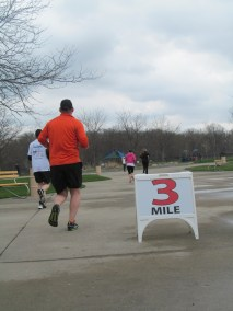 A 5K race is just over 3 miles long.