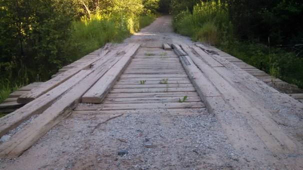 Old bridges throughout the routes