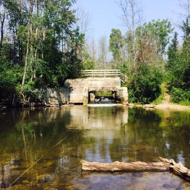 Pine River Dam Before
