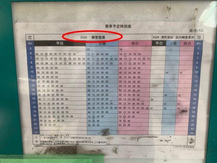 ⑫発射予定時刻 ~朝日湯源泉の行き方~