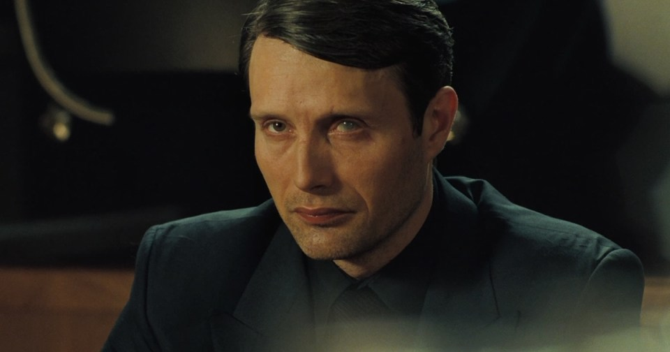 """Do you believe in God, Mr. Le Chiffre?"" ""No. I believe in a reasonable rate of return."""