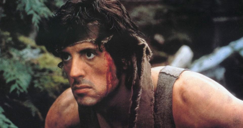 Sylvester Stallone John Rambo First Blood parhaat toimintaelokuvat