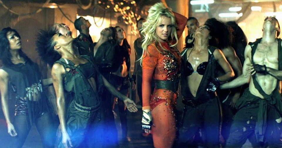 HurraaKerkko Britney Spears keikka-arvostelu