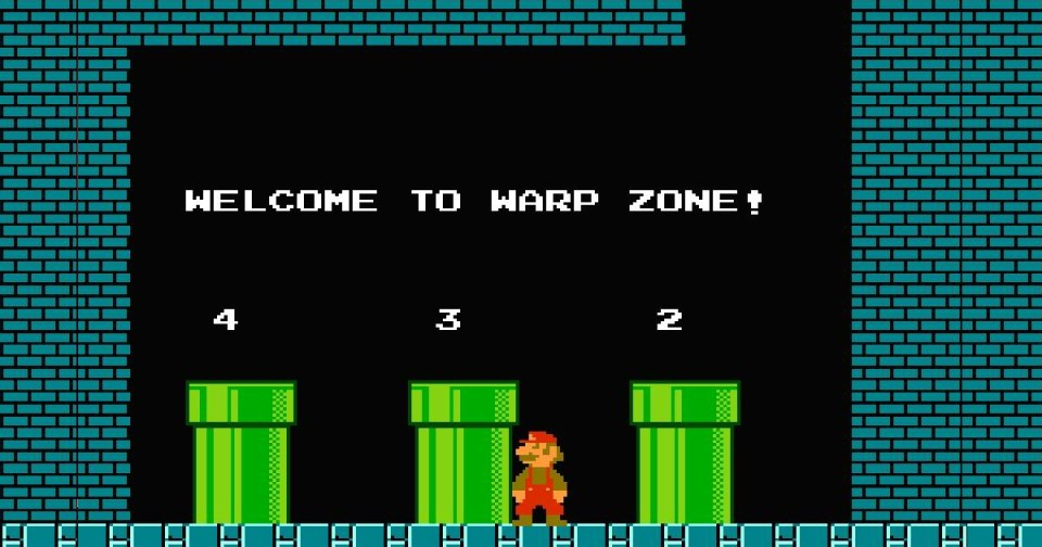 Super Mario Bros Warp Zone