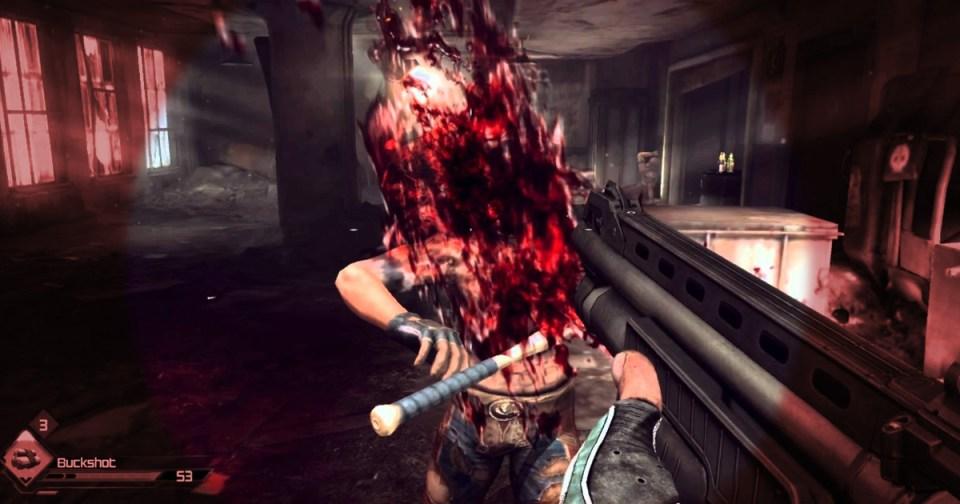 HurraaKerkko videopeli nörtti verinen FPS