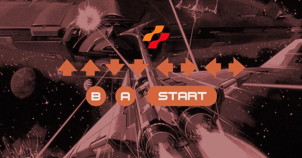 HurraaKerkko Konami Code Gradius Nintendo