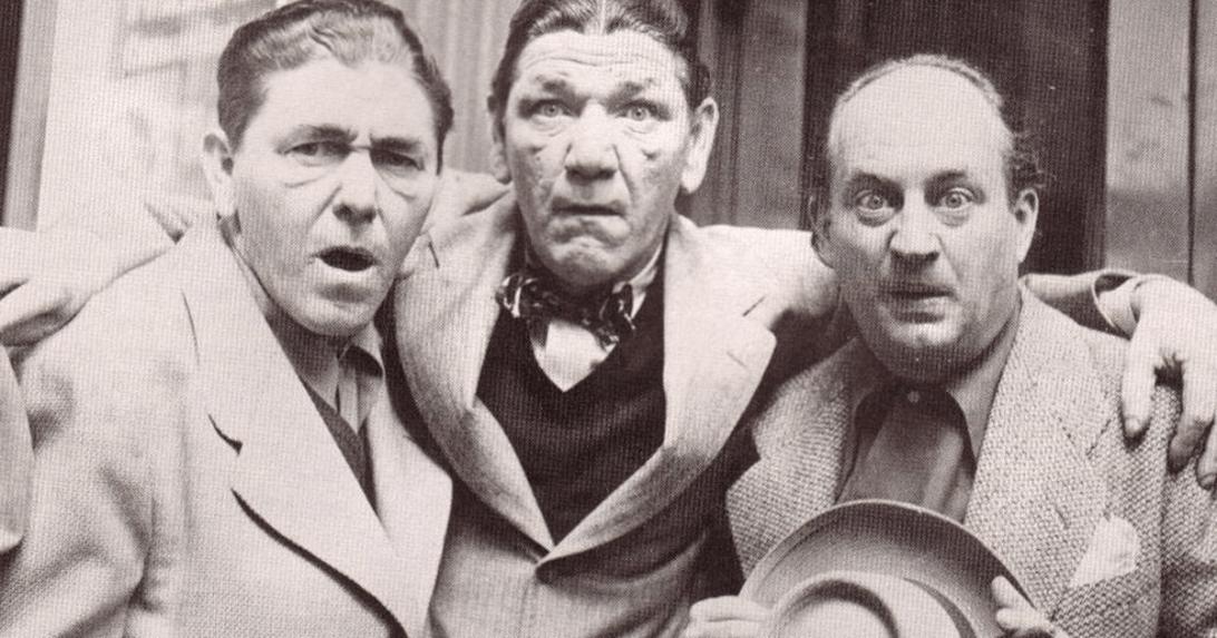Moe Howard (vas.), Shemp Howard ja Larry Fine.