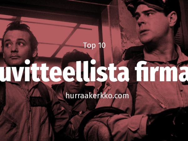 TOP10 Kuvitteellista firmaa elokuvissa