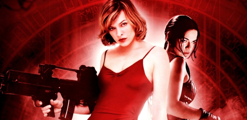 Paul WS Anderson Milla Jovovich Resident Evil movie