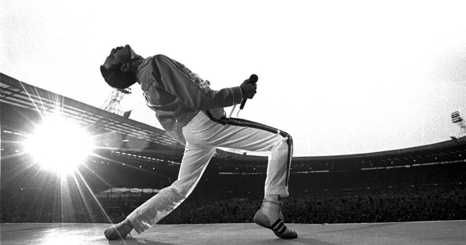 Queen Wembley Freddie Mercury