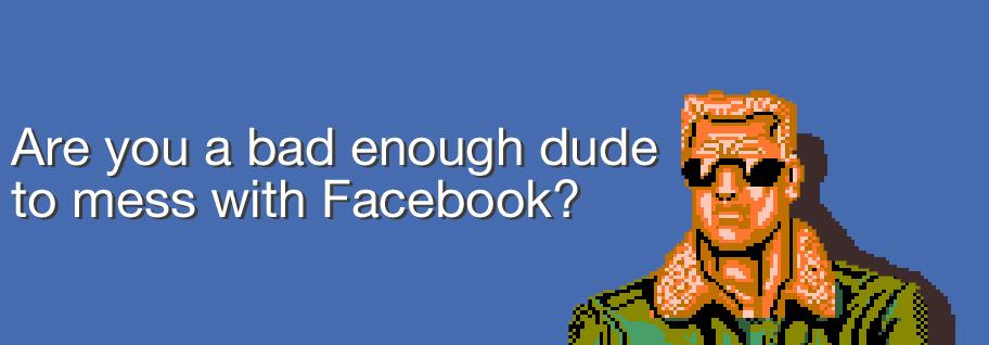 Kolme vinkkiä Facebookin selättämiseen.