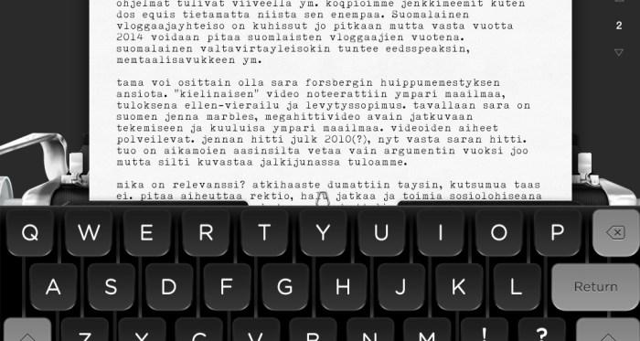 Tom Hanks rakastaa vanhanaikaisia kirjoituskoneita.