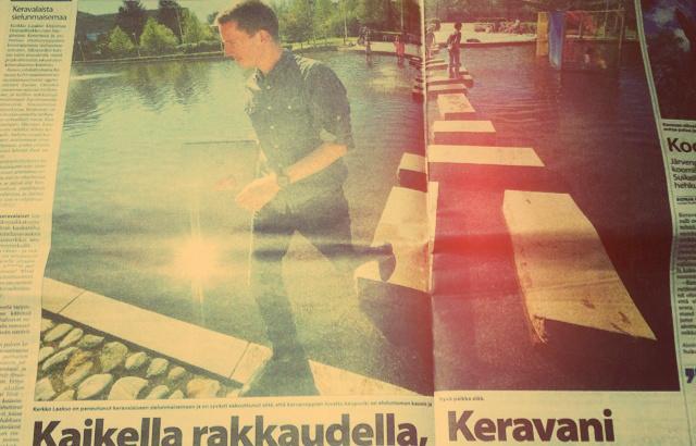 Omakehu haisee - tässä vielä vilaus Keski-Uusimaan tekemästä haastattelusta Kerava-bloggailuun liittyen.