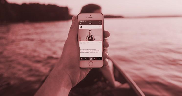 Instagram mainonta Facebook sosiaalinen media