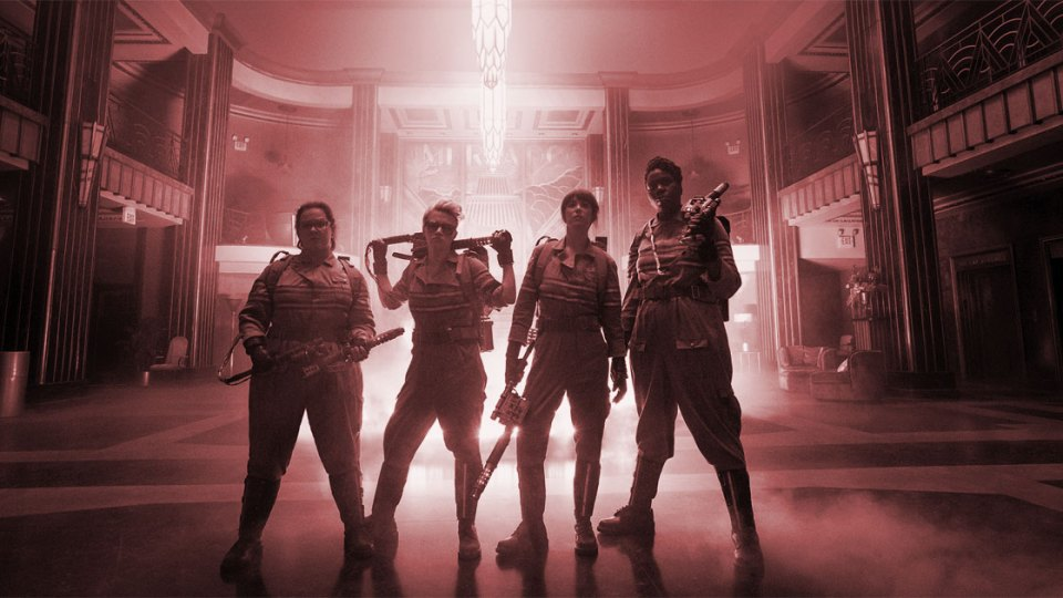 Ghostbusters reboot remake