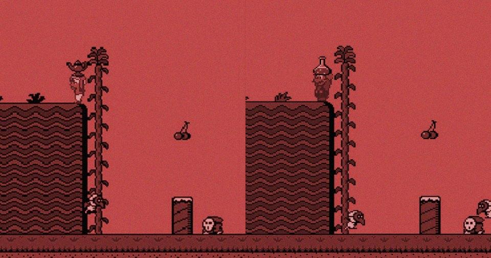 Doki Doki Panic vs Super Mario 2