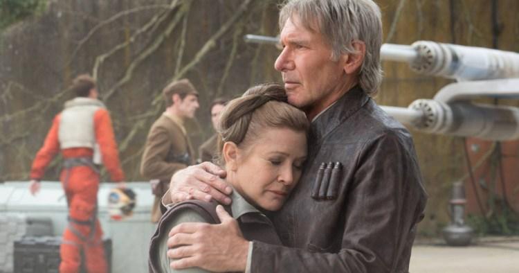 Force Awakens Leia Solo
