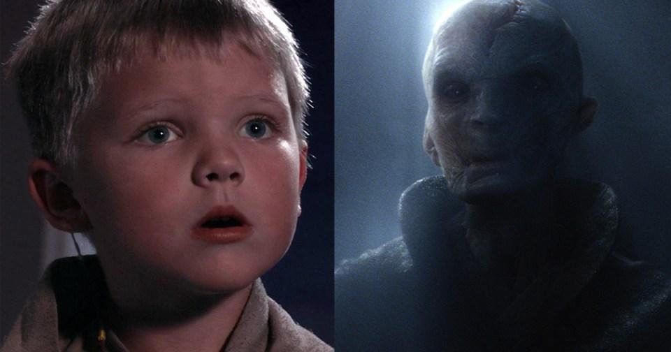 kuka on Snoke Star Wars