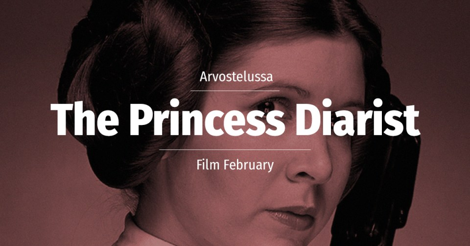 Carrie Fisher Princess Diarist