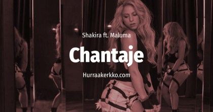 Guilty Pleasures: Chantaje