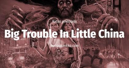 Säpinää Chinatownissa Kurt Russell
