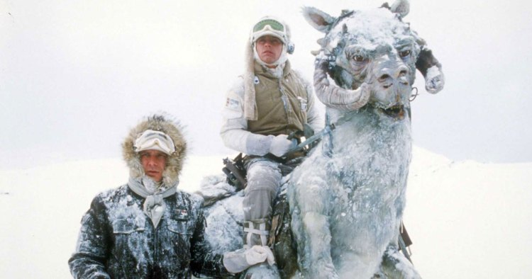 Hoth Empire Strikes Back Luke Han Solo