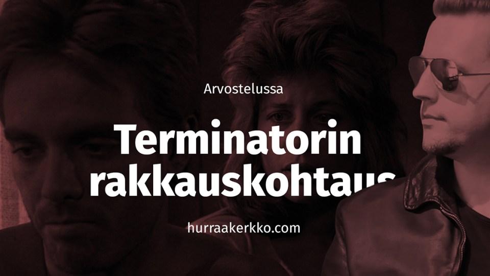 Arvostelussa Terminatorin rakkauskohtaus (1984)