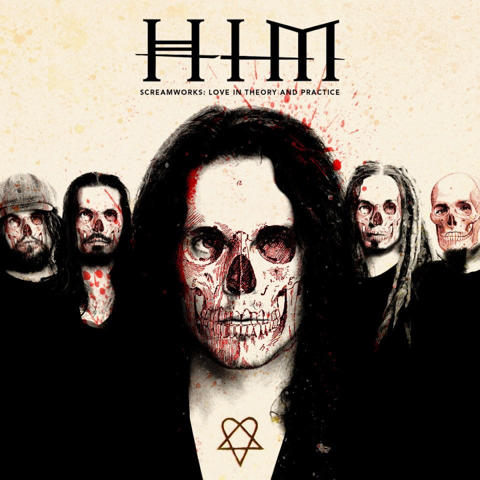 HIM Screamworks albumi kansi