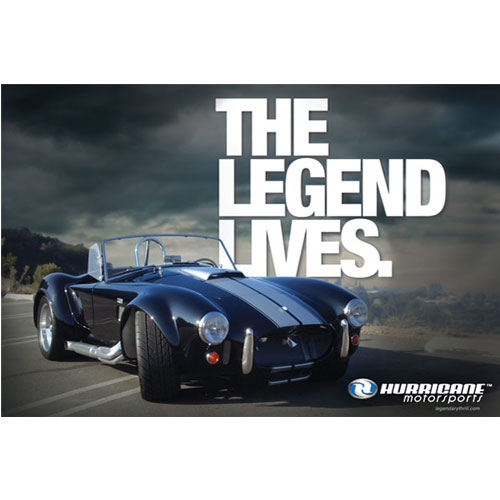 """""""The Legend Lives"""" Wall Poster"""