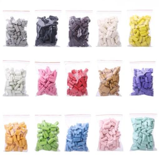 101250 Pärlor Skumbitar Java Chip - Slime Dekorationer
