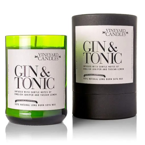 Gin & Tonic Vineyard Candles Vineyard Collection