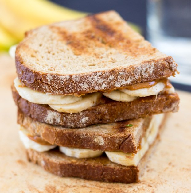 Healthy On-The-Go Breakfast Ideas - Breakfast Sandwich