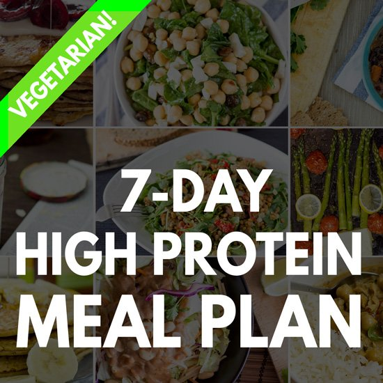 gluten free high protein diet plan