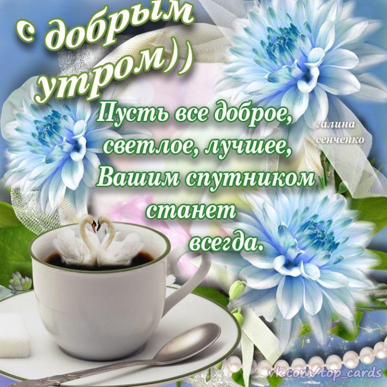 Стихи поздравления с добрым утром и хорошим днем