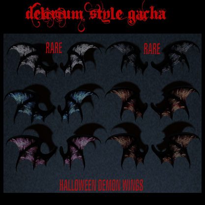 DS wings Halloween poster