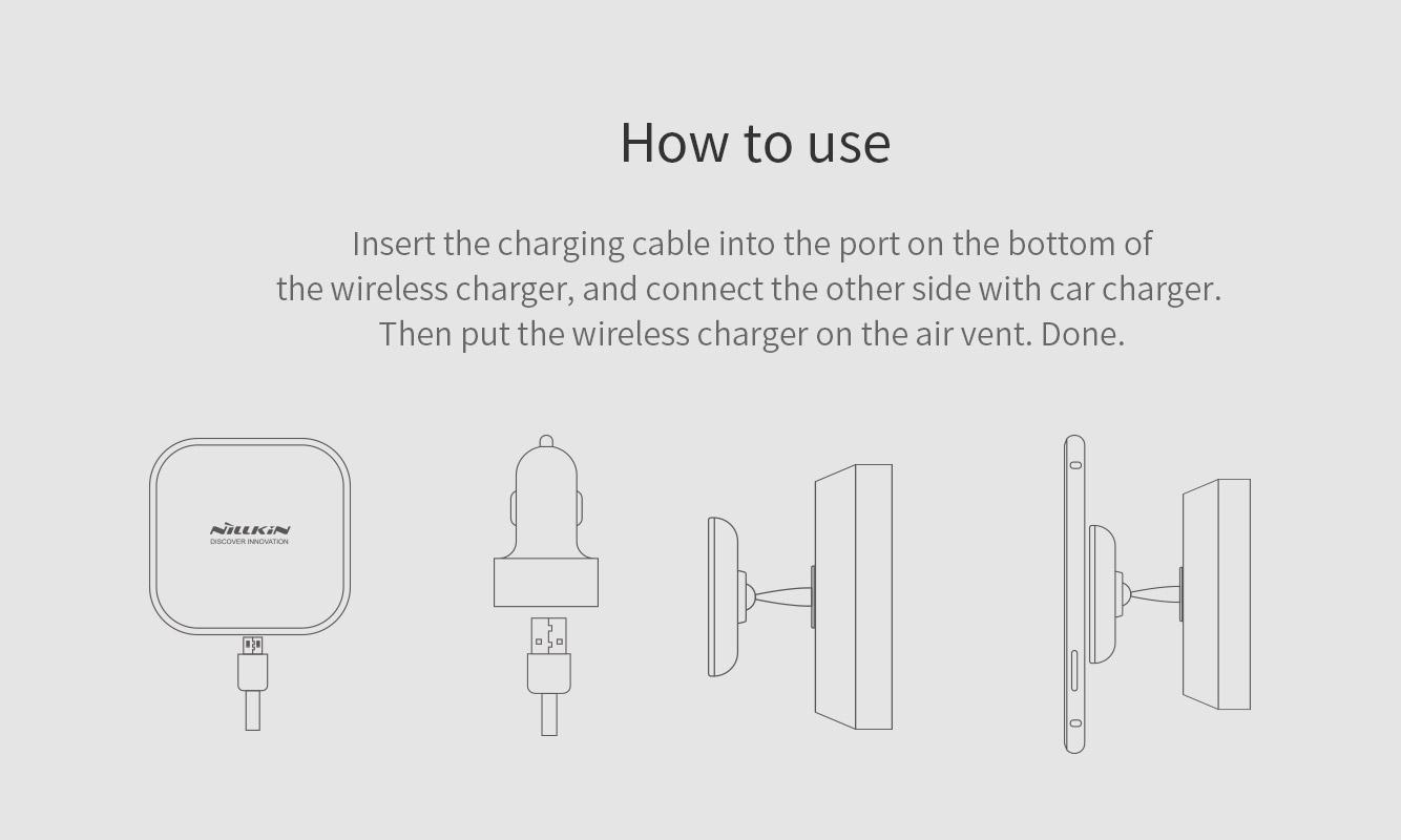 Nillkin Car Magnetic Wireless Charger Ii Model C